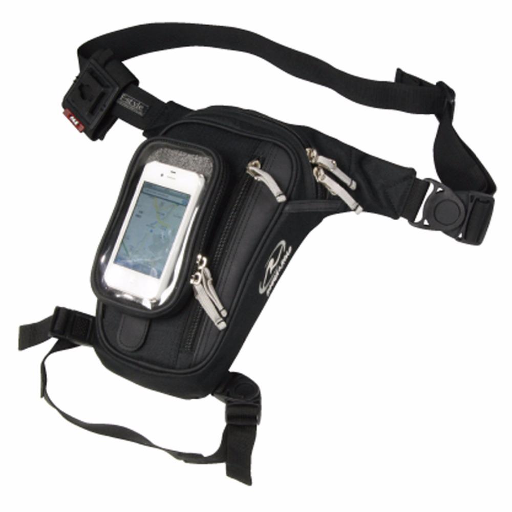 High Qualtiy Waterproof Oxford Men Drop Leg Bag Motorcycle Ride Sports Tactical Cell/Mobile Phone Belt Hip Bum Fanny Waist Pack