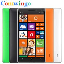 930 оригинальный Nokia Lumia 930 мобильных телефонов Qualcom 800 четырехъядерных процессоров 2 ГБ оперативной памяти 32 ГБ ROM 20MP камеры гориллы стеклянный бесплатная доставка