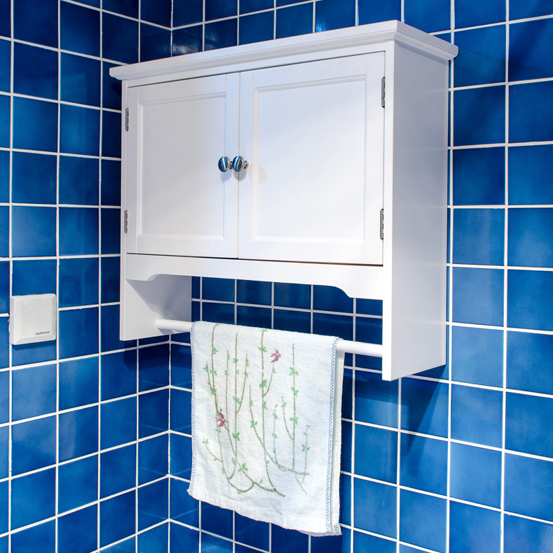 how to hang a bathroom cabinet over the toilet 1
