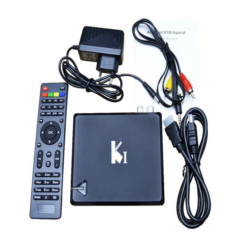 New Brand K1 Android TV Box DVB T2 QuadCore Amlogic S805 1G/8G XBMC Smart Google TV Bluetooth HD WiFiPC with DVB-T2 Free Ship(China (Mainland))