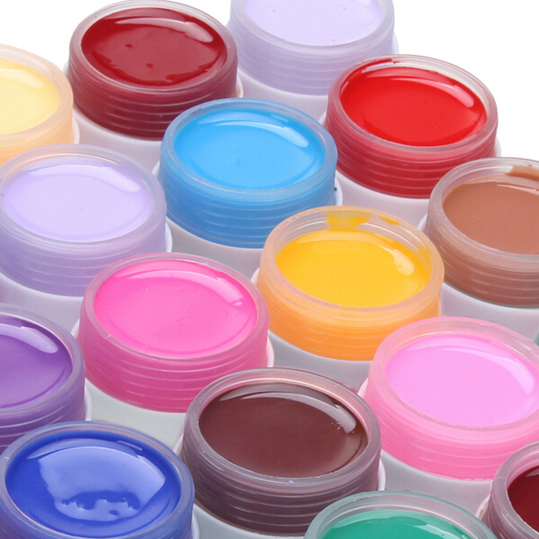 New Arrival For Nail Art Tips Manicure UV Nail Polish Gel 36 Pot Pure Color Decor Hot Sell(China (Mainland))