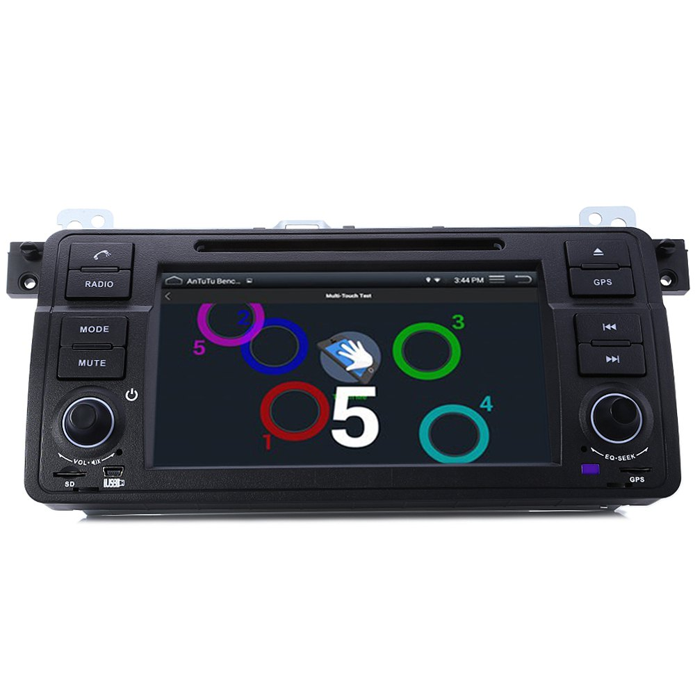 Car DVD GPS Car Radio Player MP5 2.7 Inch 1 Din 32GB WCE Stereo Video Player Bluetooth Wifi AM / FM In-dash Mic for BMW E46 1998(China (Mainland))