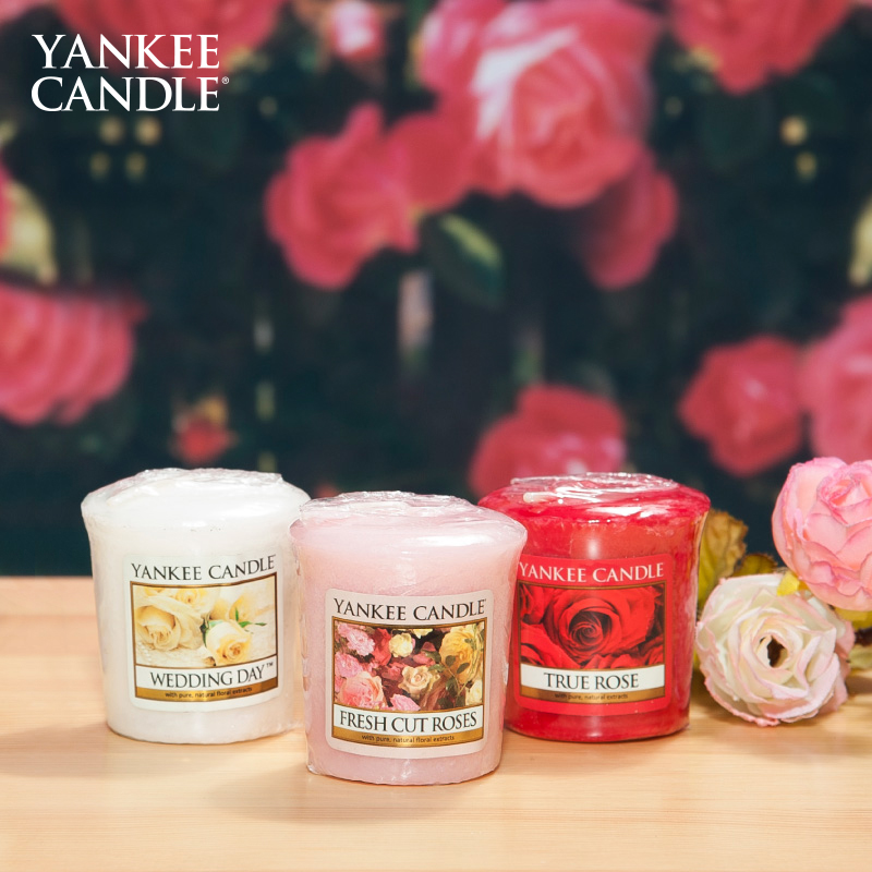 Yankee Candle Organic Natural Flavors Soy Wax Lead-free Wick Smokeless Scented Candles Scented Candle Yankee Candles(China (Mainland))