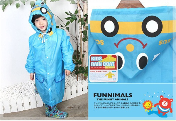 Portable Rain Suit Rain Coat Kids Rainwear Yellow Cute Raincoats Kids Raincoat Children Plus Size Light Rain Gear Raincoat(China (Mainland))