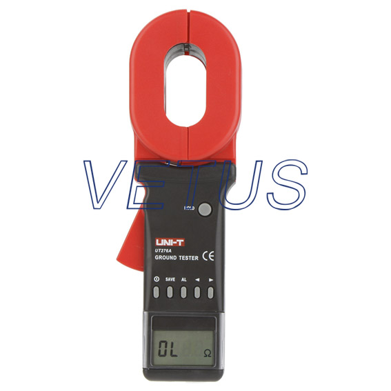 Earth Ground Resistance Clamp Ohmmeter Tester Meter 0-1200 ohm Data Storage RS232 UT276A<br><br>Aliexpress