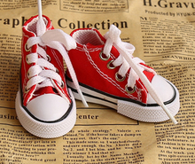 Assorted Colors 7.5cm Canvas Shoes For BJD Doll Toy,1/3 Mini Doll Shoes for 16 Inch Sharon doll Boots(China (Mainland))