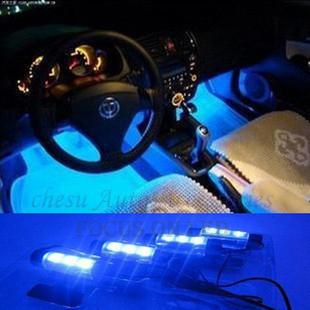 2014 новых автомобилей для укладки атмосфера света большой мощности для автомобильной одного до четырех прикуривателя в бесплатная доставка