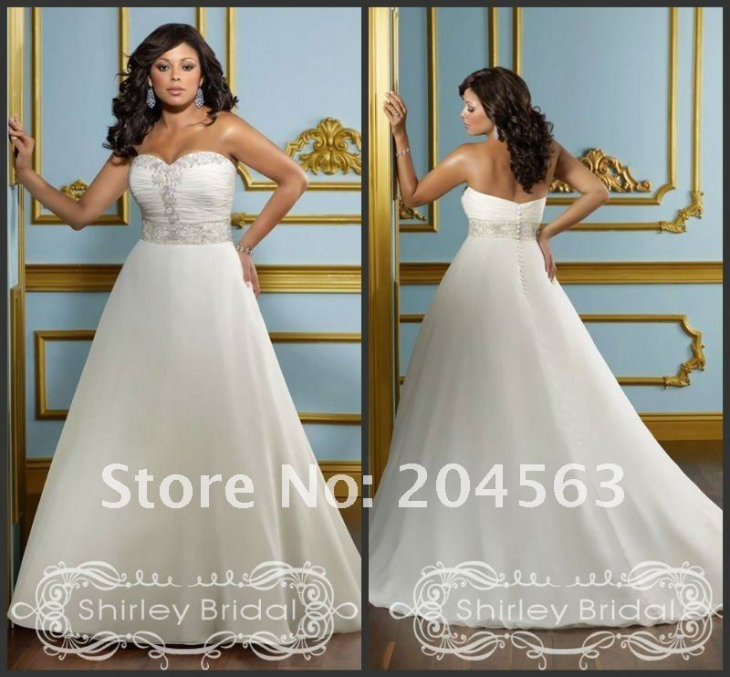 Free Shipping New Arrive Hot Sell Plus Size Wedding