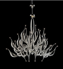 Italy Swan Chandelier Modern Murano Chandeliers Creative Art Glass chandelier Light 32 Head (18 kinds of Color)Free shipping(China (Mainland))