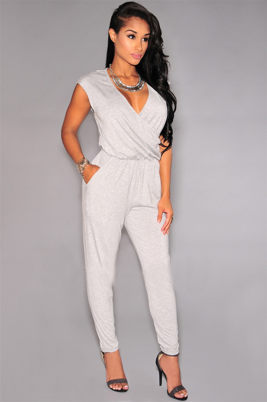 White Jumpsuits Styles Found We've heard white is the new color about town and with our charming collection of jumpsuits you can go all white, all day and night this season.