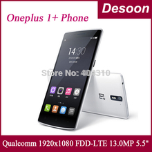 "Oneplus One phone LTE 4G FDD 5.5"" 1080 Full HD Snapdragon 801 2.5GHz 3G RAM 16GB/64GB Android4.4 Full 1080px/ Koccis(China (Mainland))"