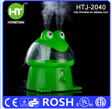100%Original Air Humidifier Frog Cartoon Humidifier Anion Atomizing Humidifying Ultrasonic Humidifying Cool Mist Maker(China (Mainland))