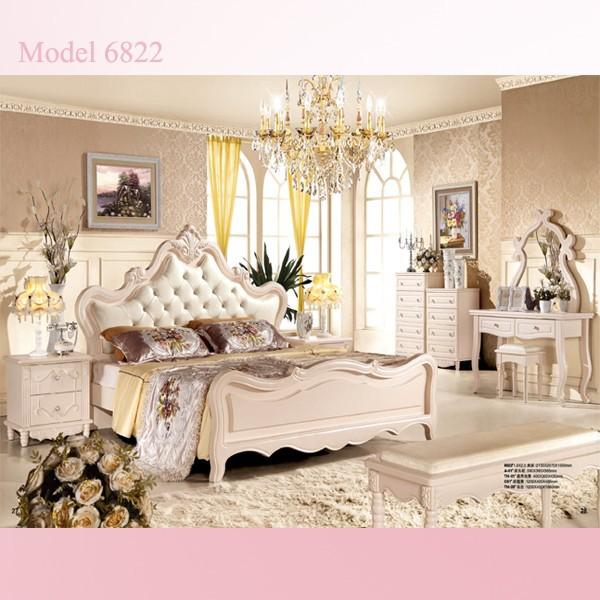hoge kwaliteit koninklijke luxe slaapkamer meubels queen size goedkope ...