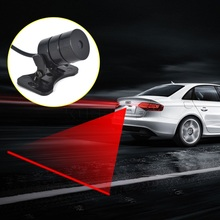 Car Styling Anti Collision Rear-end Red Laser Tail Safety 12v led Fog Light Warning Light Auto Brake Lamp Rearing Accessories(China (Mainland))