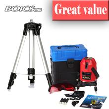 Free shipping  whole set Borka 5 line 4V1H 6 points laser line cross line laser rotary laser level selfing leveling level laser