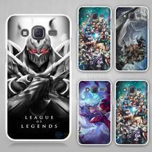 Buy League Legends Zed LOL Hard White Case Cover Samsung Galaxy J1 J2 J3 J5 J7 C5 C7 C9 E5 E7 2016 for $1.49 in AliExpress store