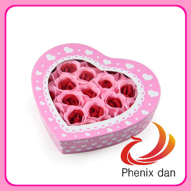 Free Shipping 2012 Hot-selling Valentine gift 26pcs washing  soap Flower for Wedding favors