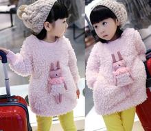 Children's Autumn & Winter Coats Baby Jacket Kids Girls Coat baby girl Outerwear Kid Parkas Jackets Child Casual Coats(China (Mainland))