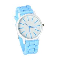 LACKINGONE 2015 new fashion Classic Geneva watches women Silicone quartz Watch Jelly women dress watch