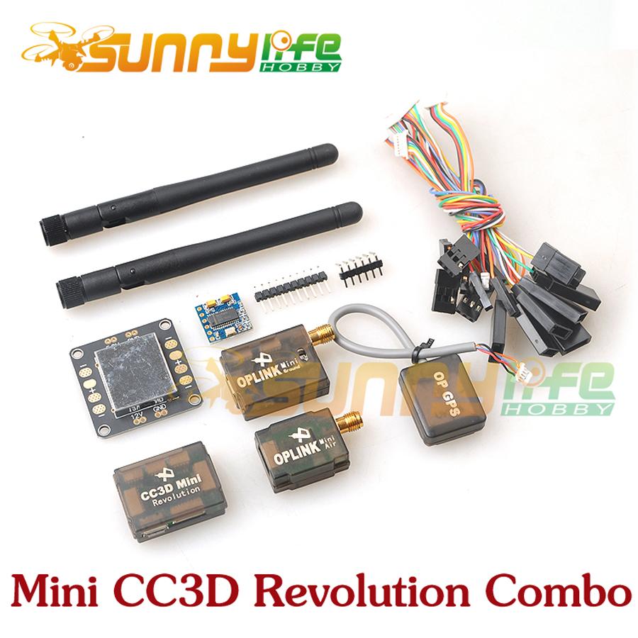 Фотография Mini CC3D Revolution +OP GPS +OSD +OPlink Kit Flight Control Combo