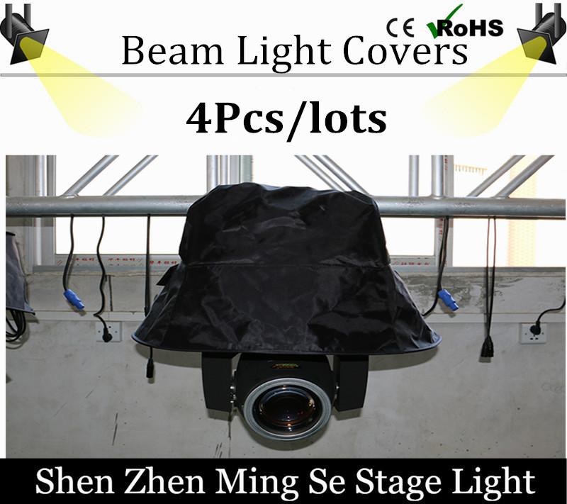 4pcs / 200w /230w beam light Rainproof cover 54x3w 18x10w Led par Rainproof cover stage lights Covers professional DJ equipment(China (Mainland))