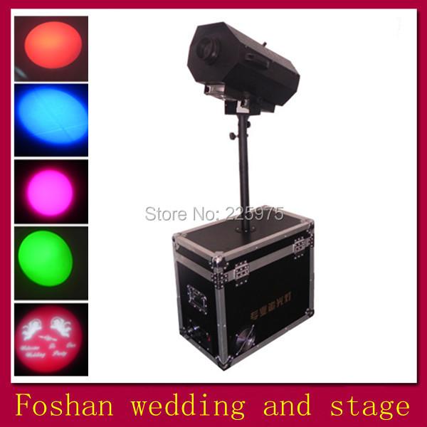 colourful spot lighting,follow spot light for stage ktv party,Pin Spot RGBW/Zoom Follow Spot Light 5 Channels(China (Mainland))