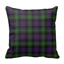 Soft Traditional Wellington Tartan Plaid Pillow Case (Size: 45x45cm) Free Shipping