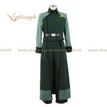 Kisstyle Fashion Mobile Suit Gundam 00 Billy Katagiri Uniform COS Clothing Cosplay Costume,Customized Accepted