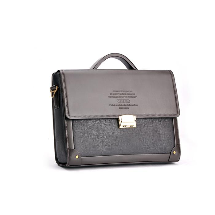 Russia Warehouse Men Casual Briefcase Business Shoulder PU Leather Bag Men Messenger Bags Computer Laptop Handbag Bag(China (Mainland))