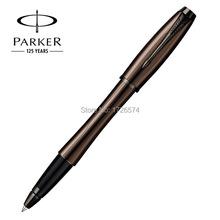 1 шт./лот паркер ролика ручка канцтовары ручки шоколад ручка паркер городского металл ролик ручка офис / записи поставки 14.7 * 1.7 см