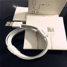 Guarantee Original 8 pin USB Data Sync power cord Adapter Charger cable for Apple iPhone 5 5s 6 plus for iPad air for ipad ios 9(China (Mainland))