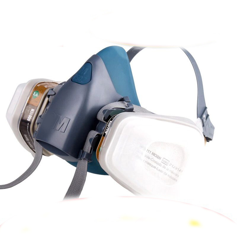 N95 7502 masks paint dual gas respirator,Face Shield,Industrial Safety Equipment mask protection mask(China (Mainland))