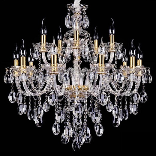 Wholesale Free Shipping 15 Arms Crystal Chandelier