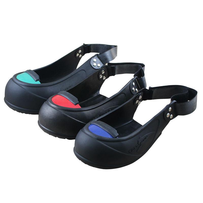 Tigergrip Rubber Non Slip Safety Shoe Boot Cap Visitor Overshoe Anti Smashing Steel Toe Cap Boot ...
