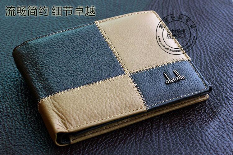 with coin bag 2015 fashion designer men wallets famous brand male money purses card holder pocket vintage short men's wallets(China (Mainland))