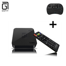 Buy GOTiT Amlogic S905 Quad-Core Cortex A5 1G DDR 8G Flash Support Arabic Europe Russian IPTV 16.1 4K WiFi Android 4.4 TV Box for $37.40 in AliExpress store