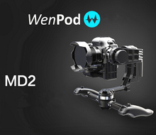 WenPod Official MD2 64 Bits GIMBAL Intelligent Auto Calibration 3-Axis DSLR gyropode camera drone fpv photography PK Ronin M