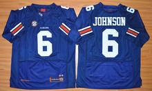 2016 College Auburn Tigers Jerseys 6 Jeremy Johnson 34 Bo Jackson Jersey 2 Cameron Newton Breathable Navy Blue White(China (Mainland))