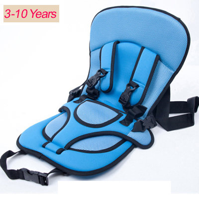 0-10 Years Old Plus Size Baby Portable Car Safety Seat Kids Car Seat 36kg Car Chair for Children Toddlers Car Seat Cover Harness(China (Mainland))