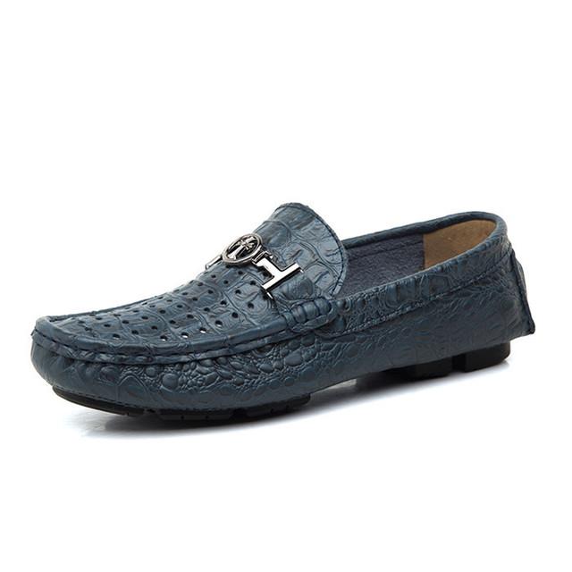 Обувь из натуральной Кожи Мужчины Квартиры Мокасины Мужчины Обувь Дышащая Повседневная ...