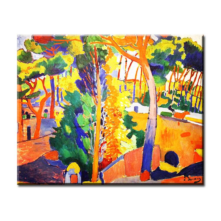 Commentaires Peintures Andre Derain Faire Des Achats En