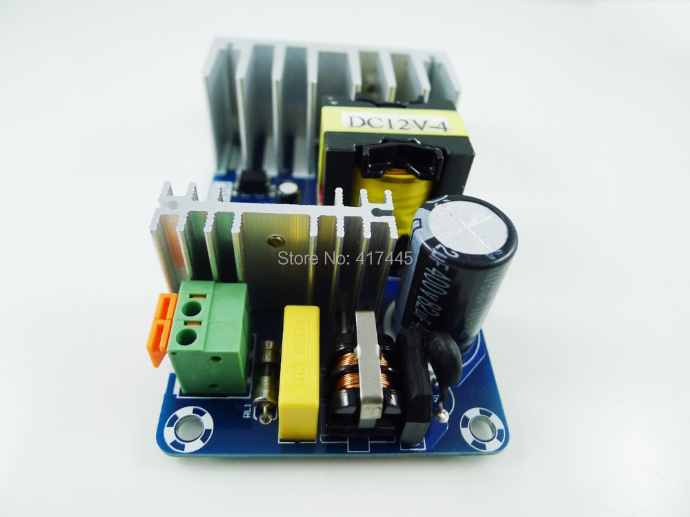 6pcs/lot AC to DC converter Power Module Supply Isolation AC85-265V to 12V MAX 8A 100W  Industrial Power Supply<br><br>Aliexpress