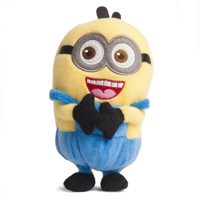 Hot!!! Despicable Me small yellow man Toy Plush Doll Case Cover For LG T375 Cookie Smart Mobile Mobile Smart Phones(China (Mainland))