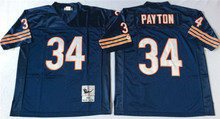 Men's Throwback Sport Shirt Jim Devin McMahon Walter Hester Gale Payton Mike Sayers Singletary T-Shirt(China (Mainland))