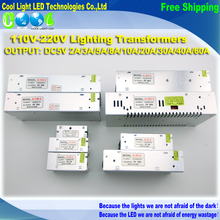 110V-220V Lighting Transformers DC5V Power Supply 2A 3A 5A 8A 10A 20A 30A 40A 60A High Quality Safy Driver for LED Lighting(China (Mainland))
