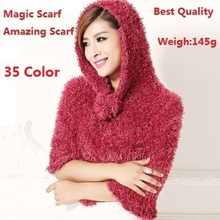 Free Shipping 2014 New Fashion Multifution Magic Scarf Amazing Scarf Shawls Pashmina Scarves For Women/Ladies