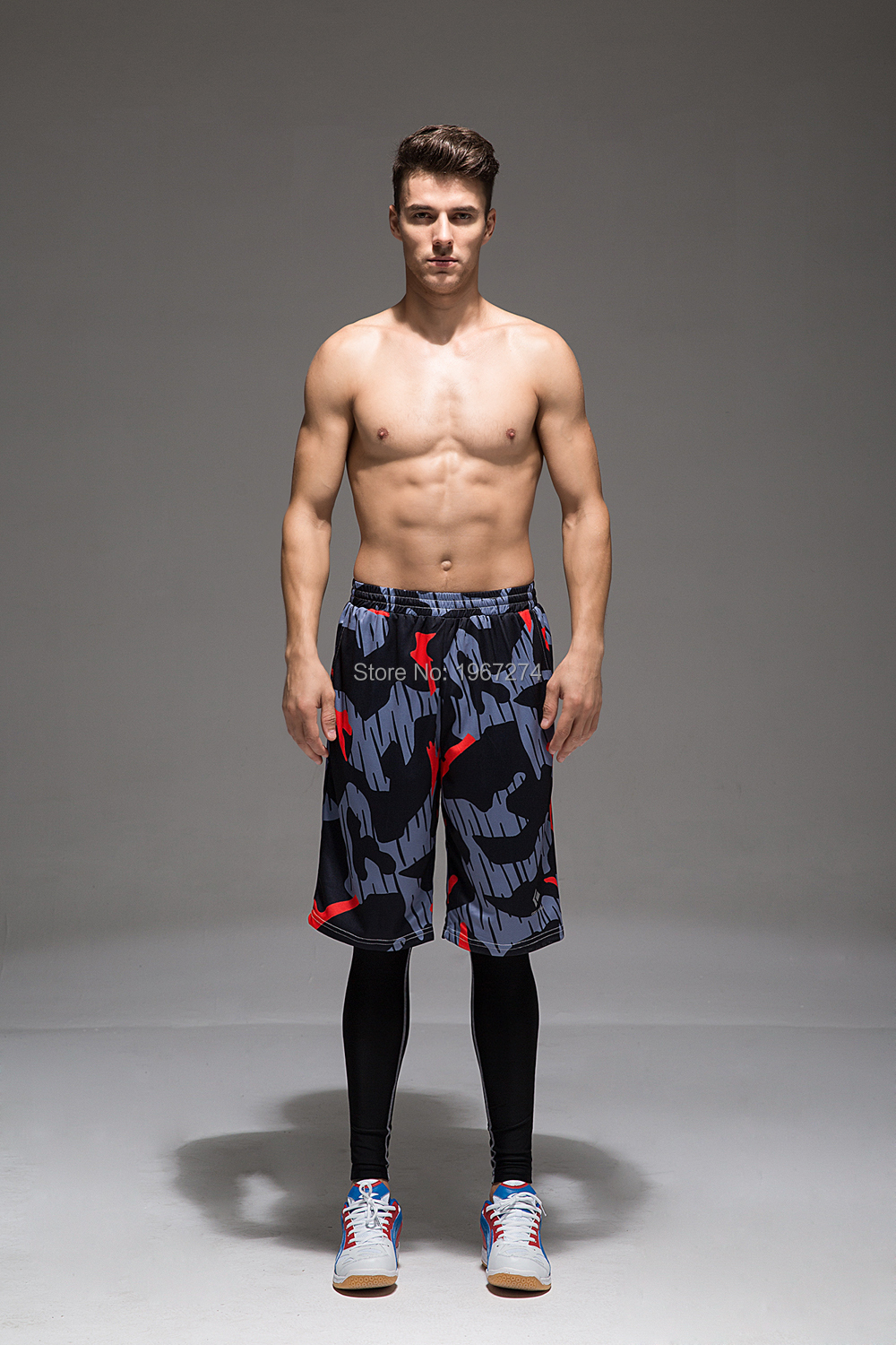2016 sublimation basketballl quick dry shorts for men