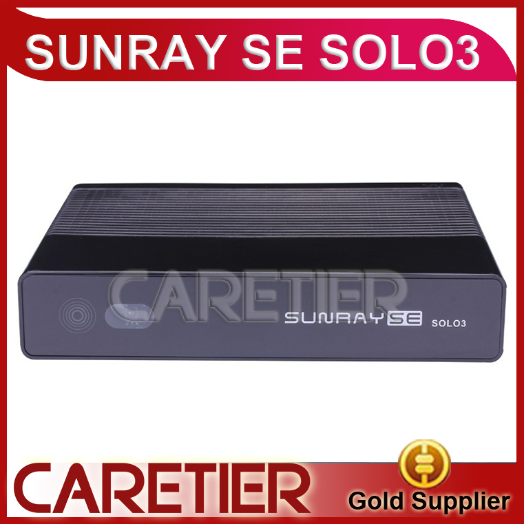 Satellite TV Receiver sunray se solo3 as solo se DVB-S2/C/T/T2 tuner bigger memory of 1GB DRAM and 256MB Decoder 5pcs a lot(China (Mainland))
