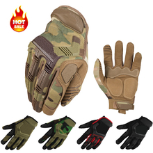 2017 New Brand Wear M-Pact Army Military Tactical Gloves Outdoor Paintball Shooting Full Finger Motocycel Bicycle Mittens(China (Mainland))