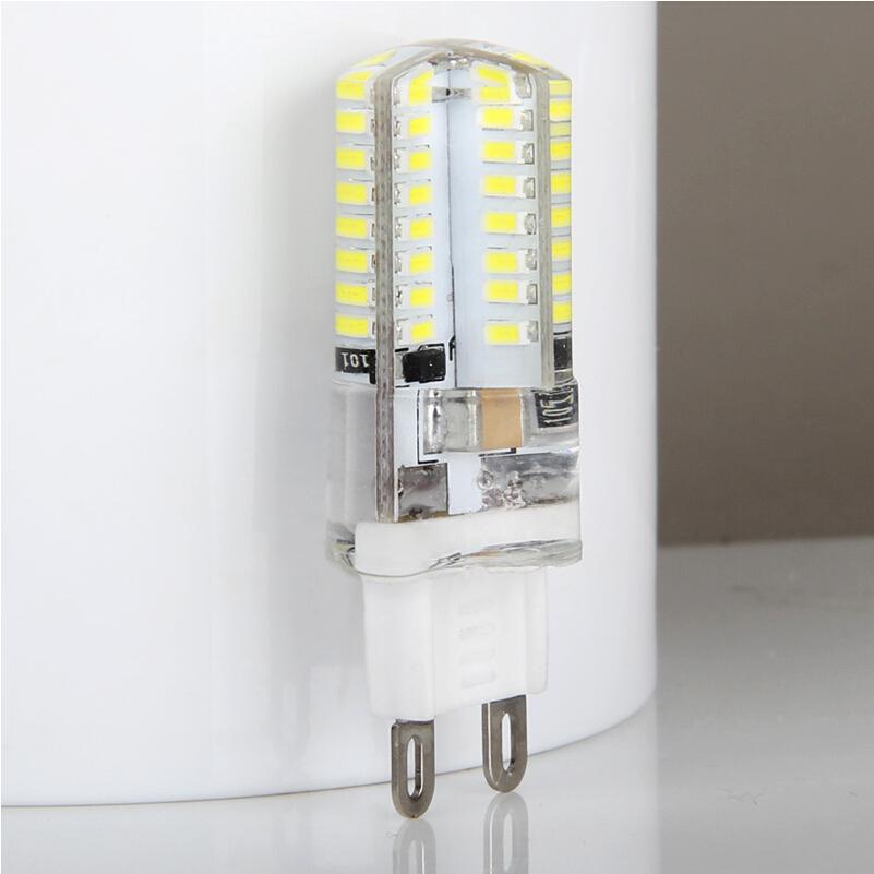 Замена галогенных ламп с цоколем G9 на светодиодные